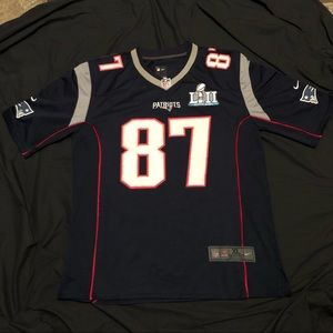 This is the one the Gronk Super Bowl patch Jersey